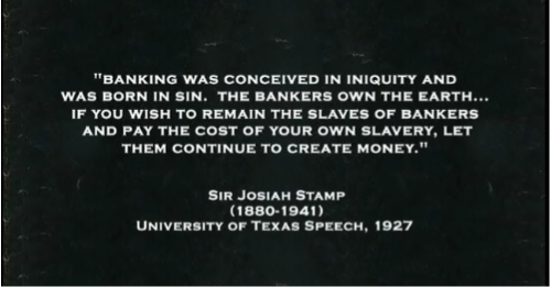 A Never Ending Cycle of Enslavement by Debt……  (1/5)